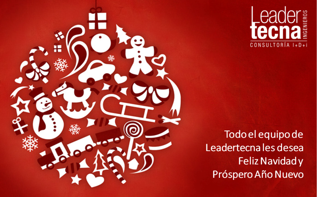 LEADERTECNA LES DESEA FELICES FIESTAS
